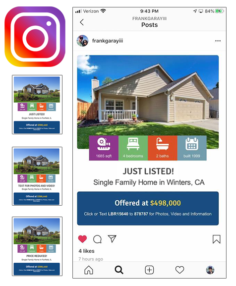 Instagram Real Estate Listing Photos