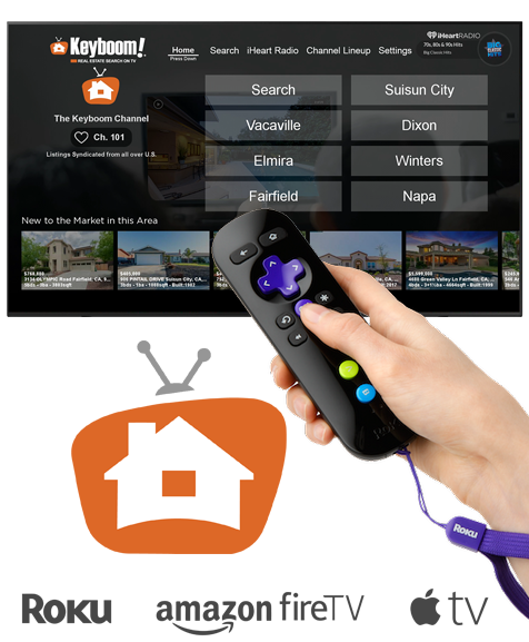 Keyboom Real Estate Search on TV